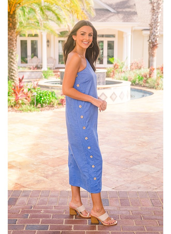 Blue Eyed Gal Midi Dress