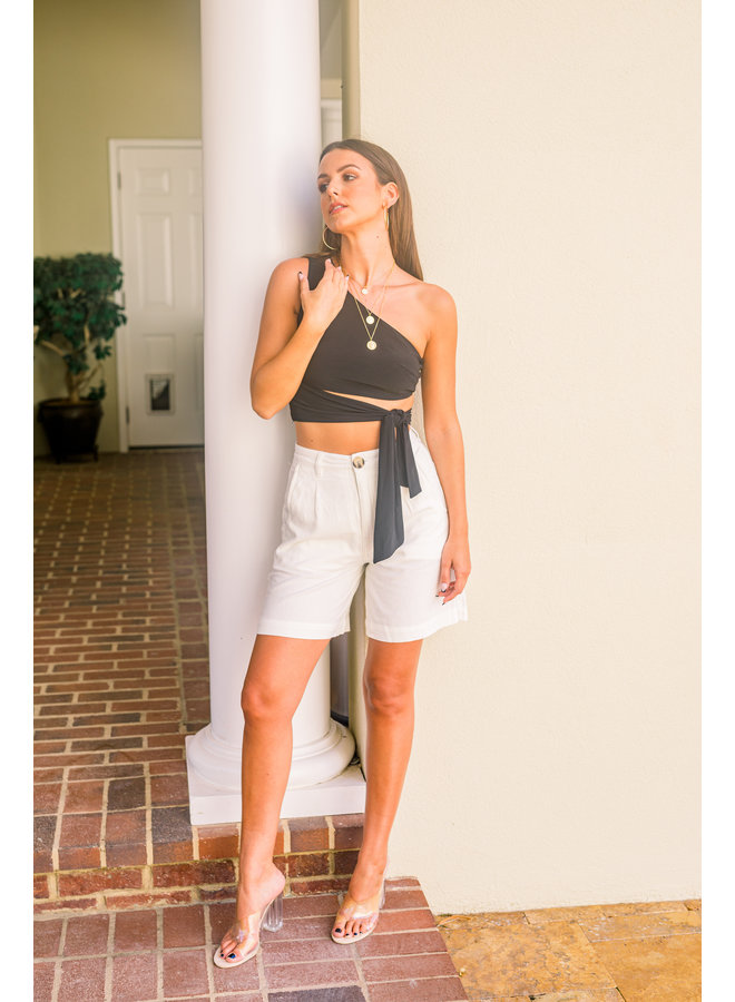 Horizon Linen Shorts
