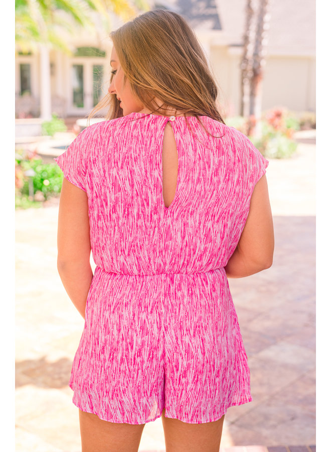 Poppin' Pink Romper