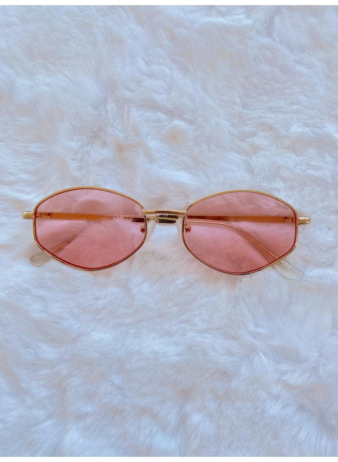 Pink Shady Diamond Sunnies