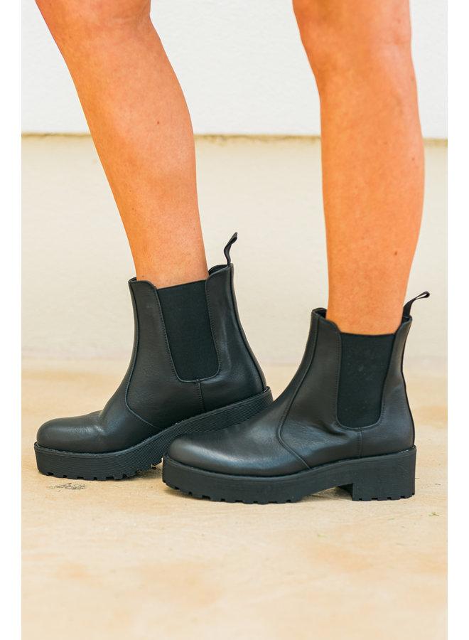 Margo Black Boots