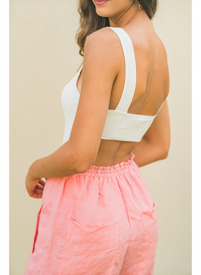 First Cut Open Back Bodysuit