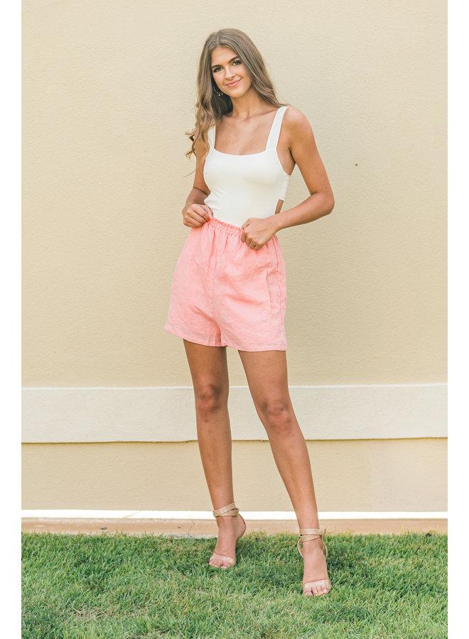 Super Highwaisted Barbie Shorts