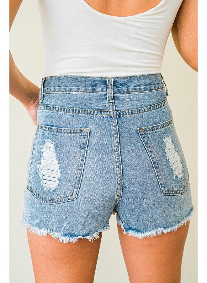 Alexa Denim Shorts