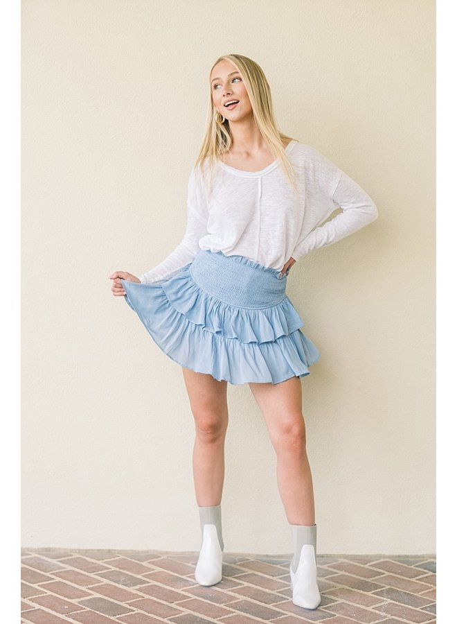 Carolina Girl Mini Skirt
