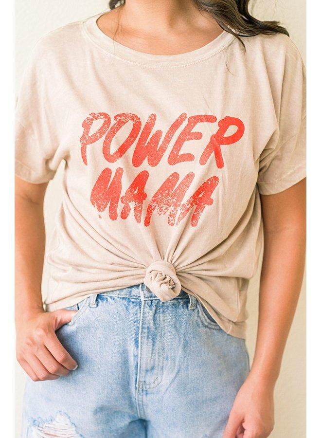 Power Mama Tee