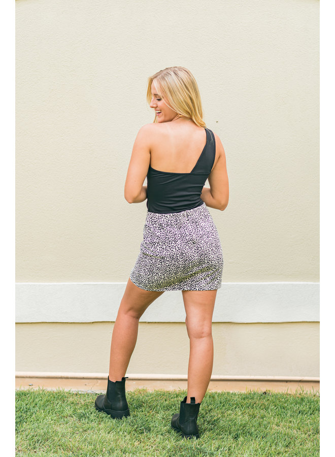 Blind Side Mini Skirt