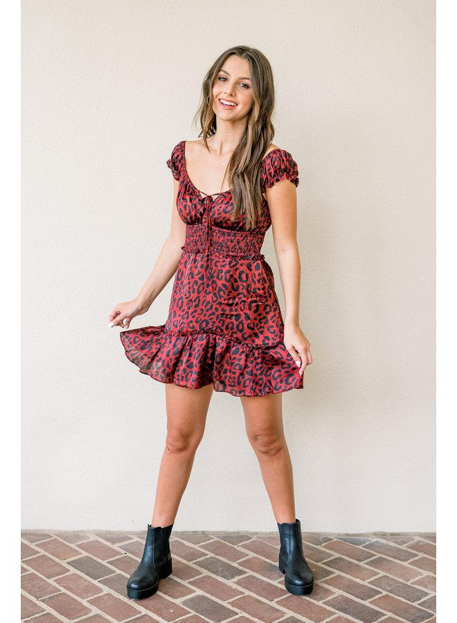 Razorbacks Ruffle Dress