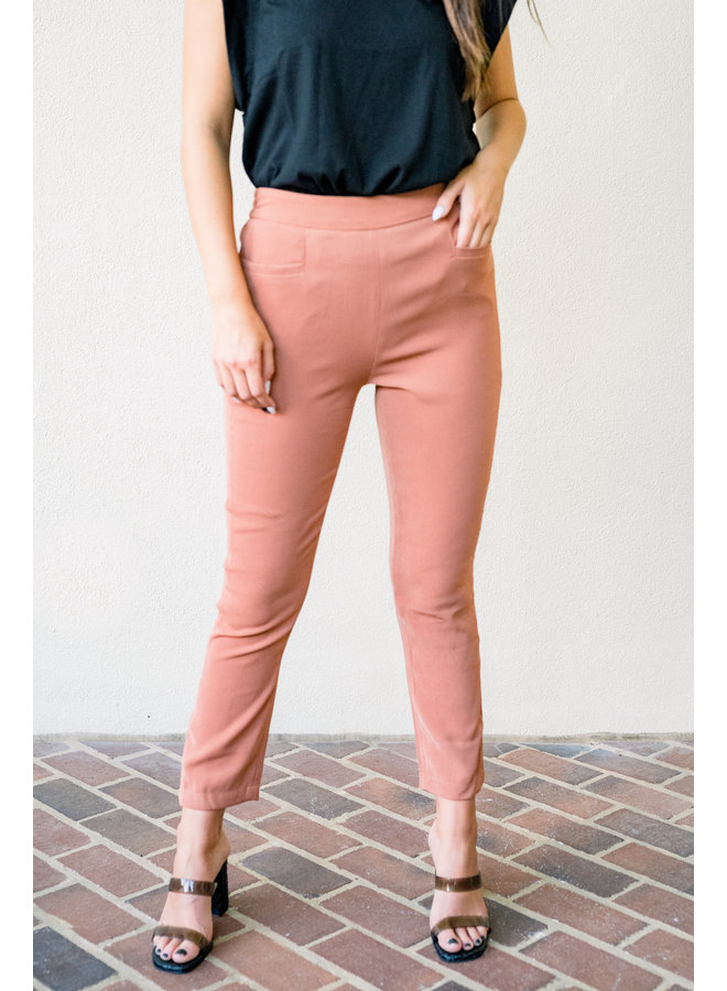 Restless Rust Dress Pants