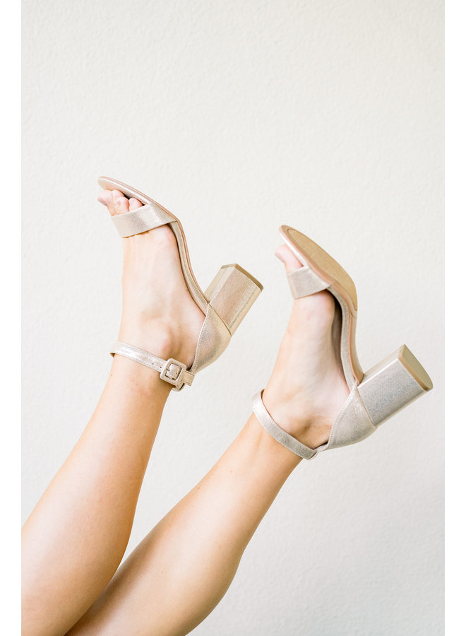 Gold Plated Heels