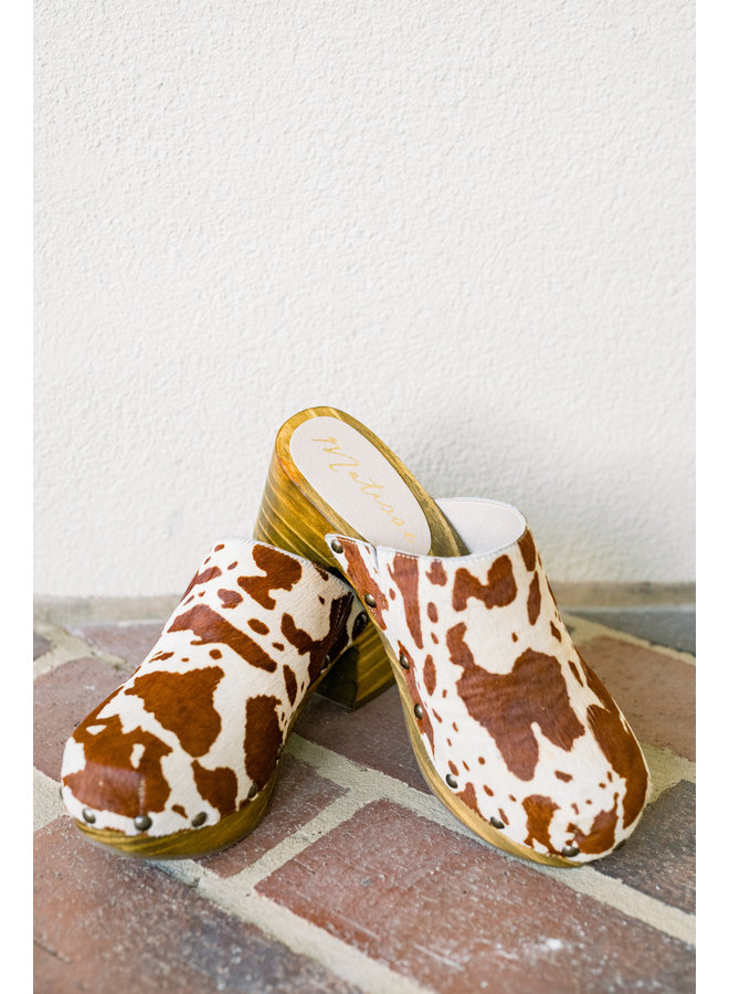 Just Cow Clog