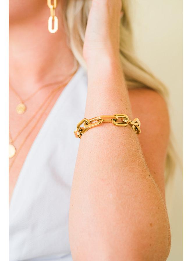 Gage Link Bracelet