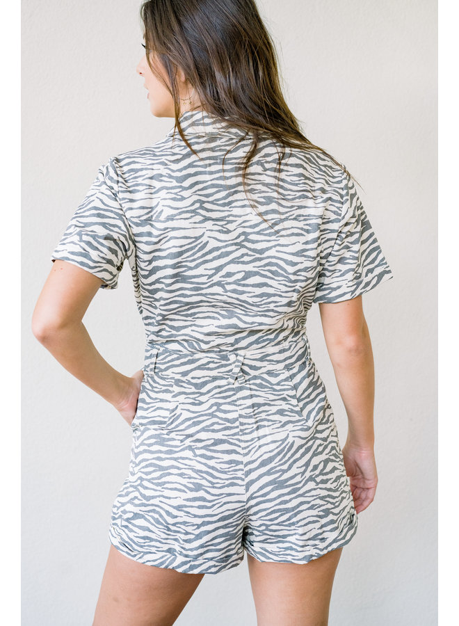 Safari Sunsets Romper