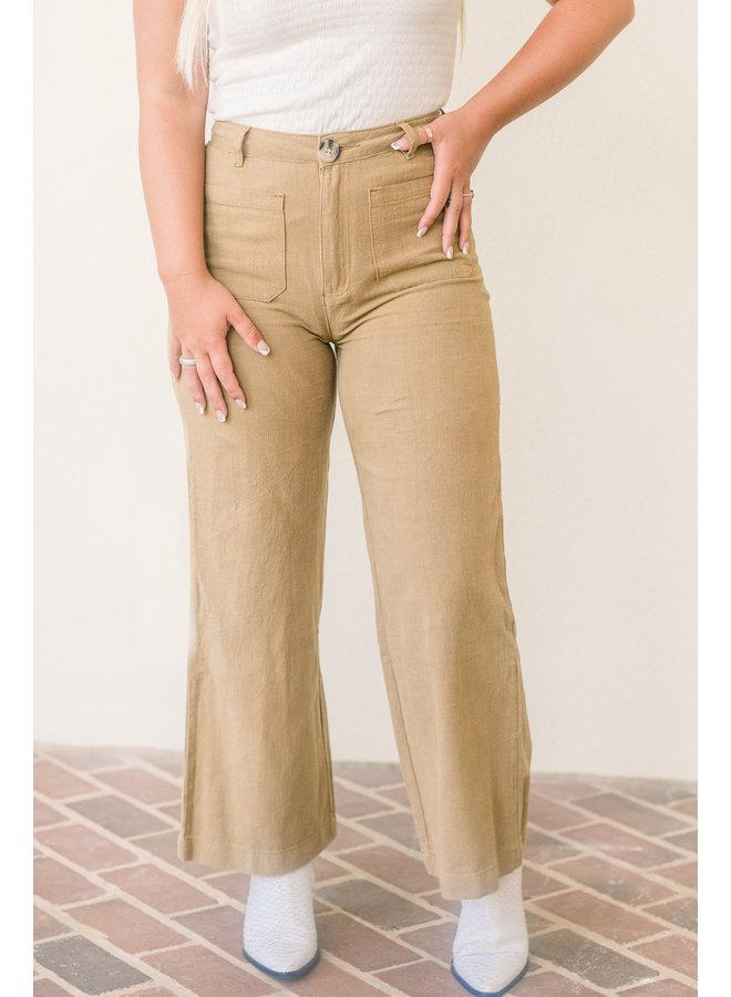 Ramie Linen Pants