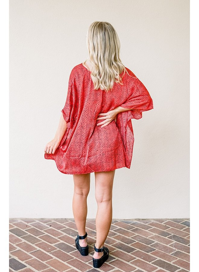 In The Red Zone Tunic