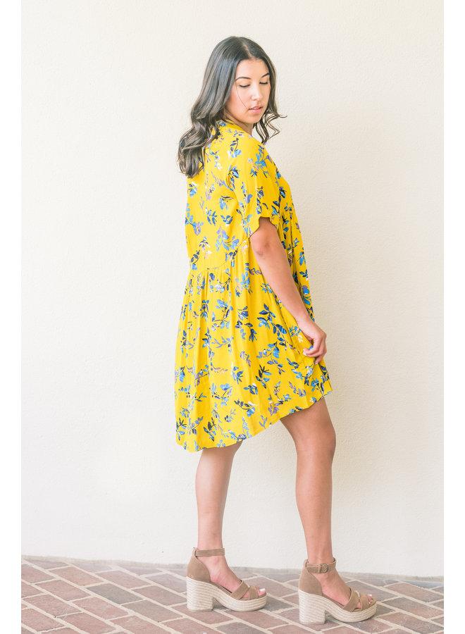 Hopeful Floral Dress