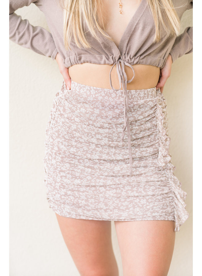 In the Feels Mini Skirt