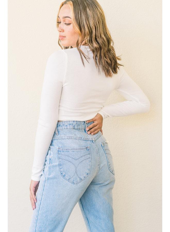 Personally Peyton Crop Sweater