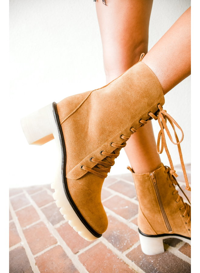 Fall Fever Lace Up Boots