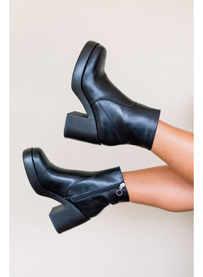 City Slicker Leather Booties
