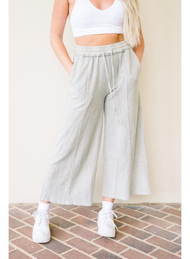 Ashy Slouch Pants