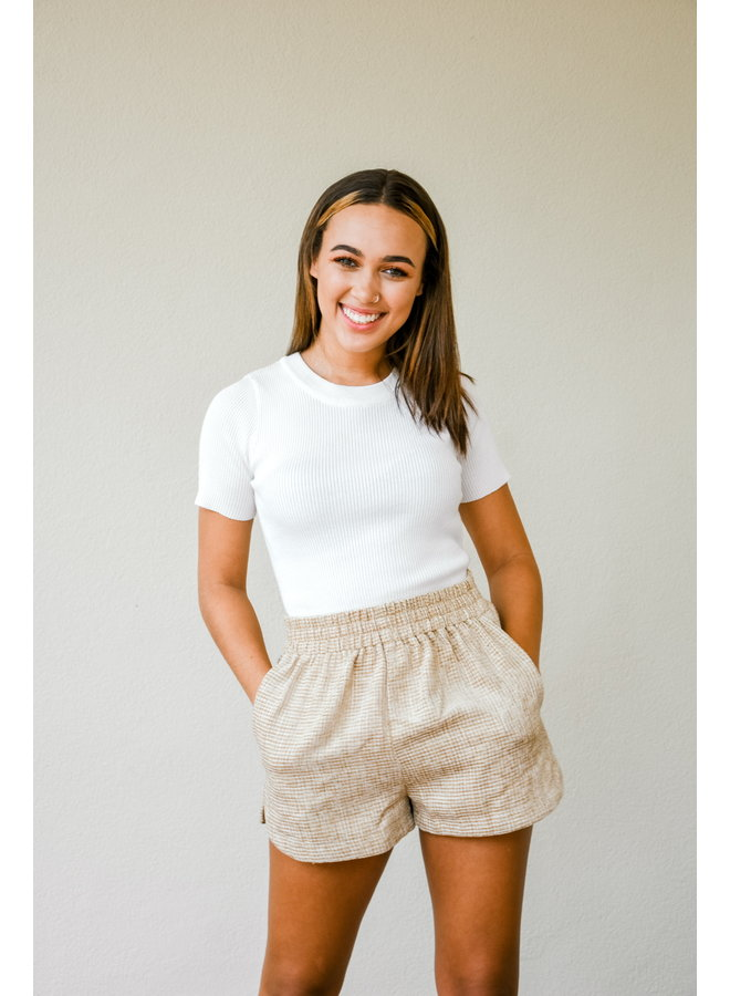Southern Tide Tweed Shorts