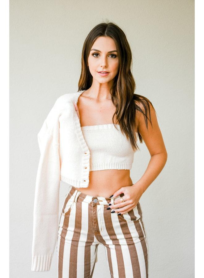 Cream + Sugar Sweater Set