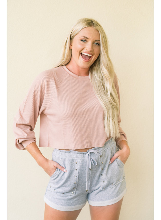 Cheeky Knitted Crop
