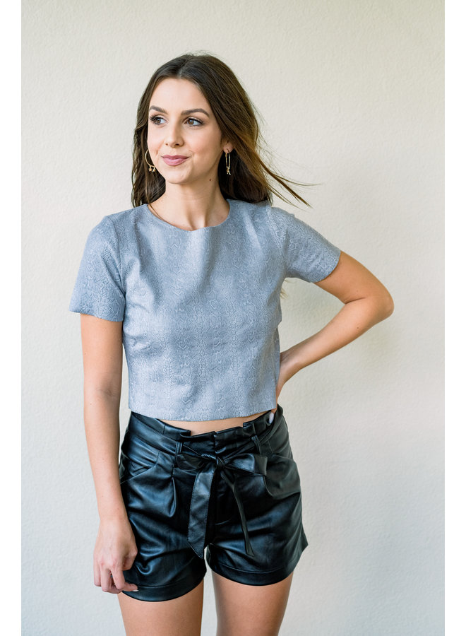 Meadows Cropped Top