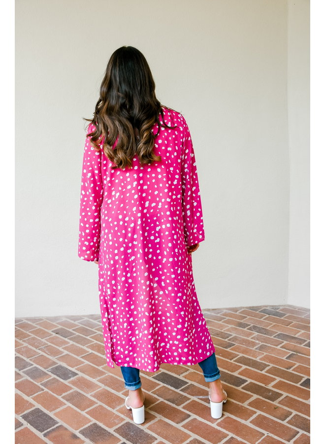 Magenta Everyday Duster