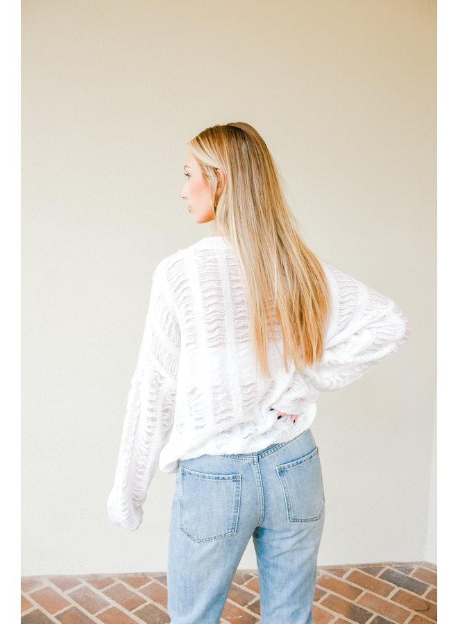 Pearl Kinda Girl Sweater