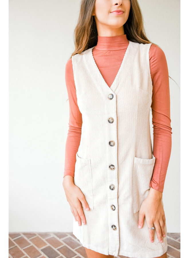 Roll With It Turtleneck- Rust