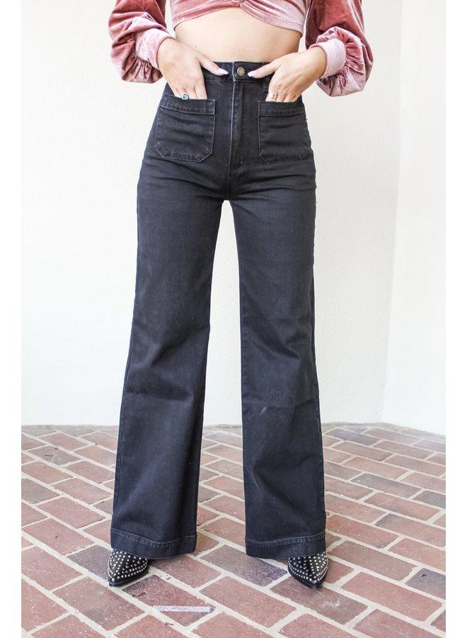 Sailor Wide Leg Jean
