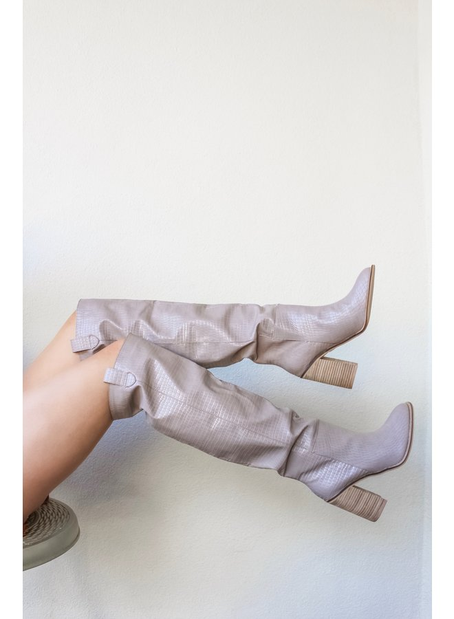 To Taupe and Back Knee Highs