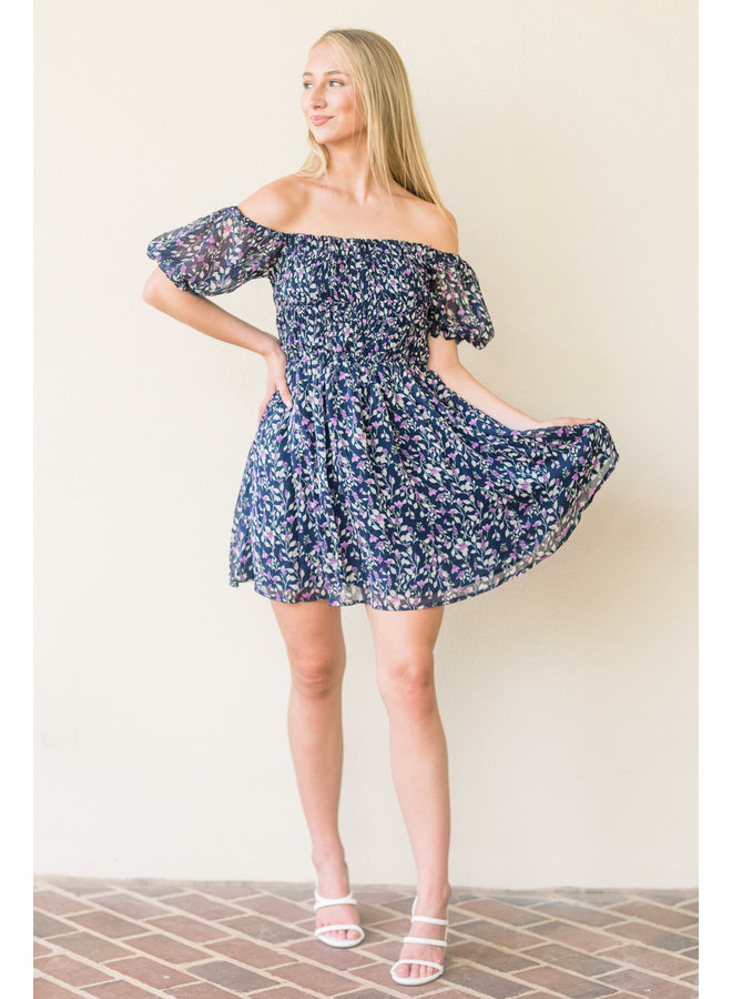 Fall in Love Floral Dress