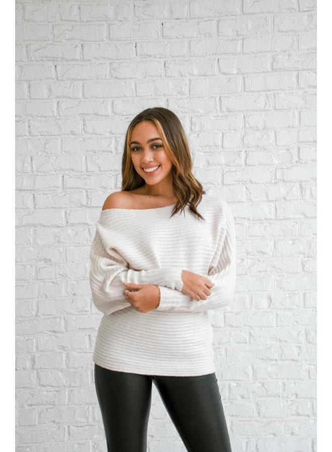 Winter Wonderland Shimmer Sweater