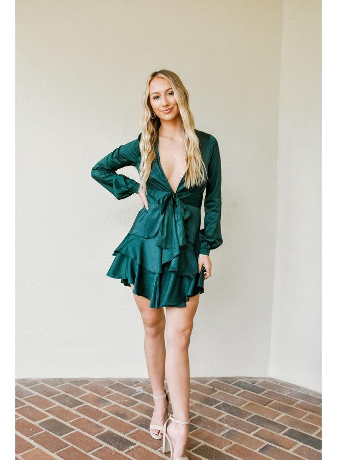 Tis the Season Ruffle Dress
