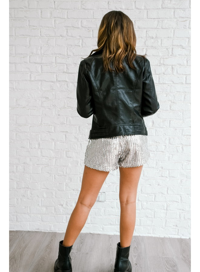 Naughty List Leather Jacket