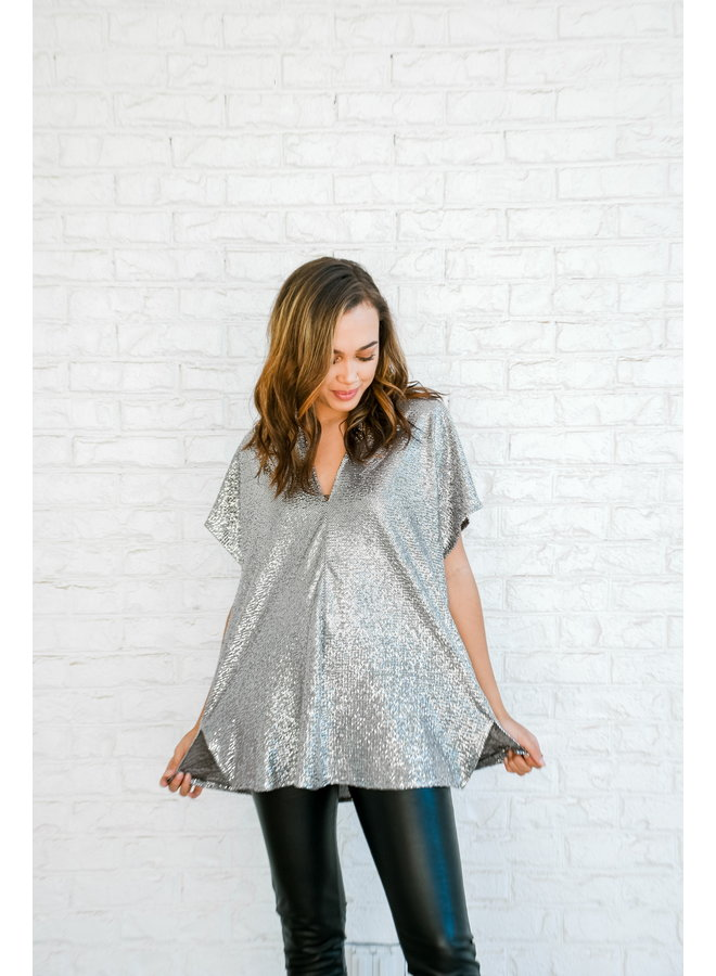 Sparkling Tunic- Icicle