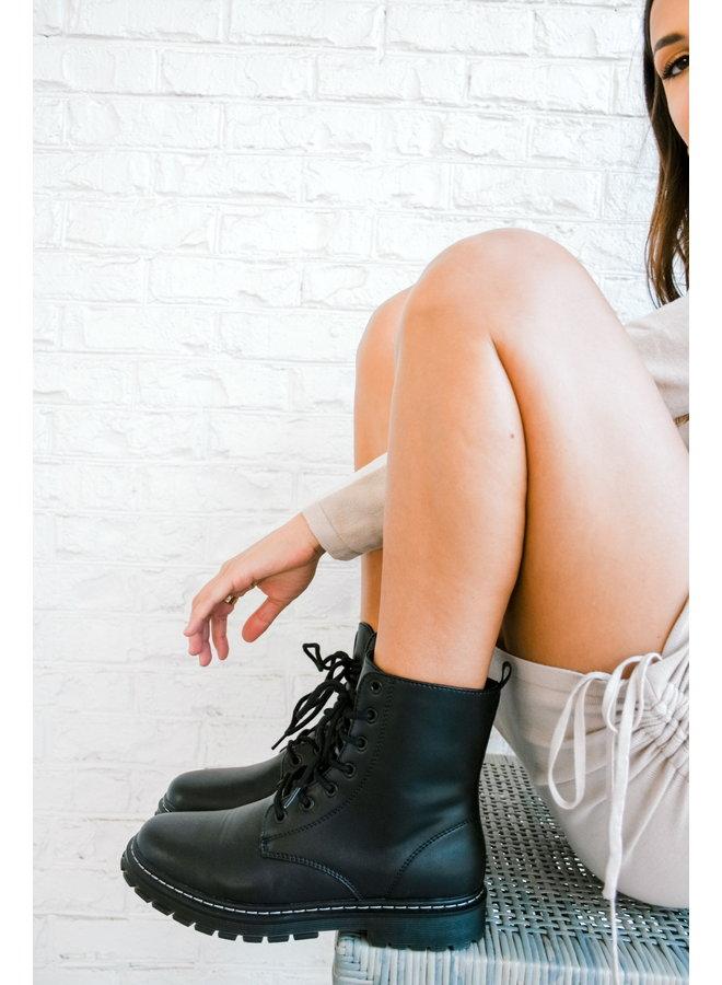 Cool Cadet Combat Boots