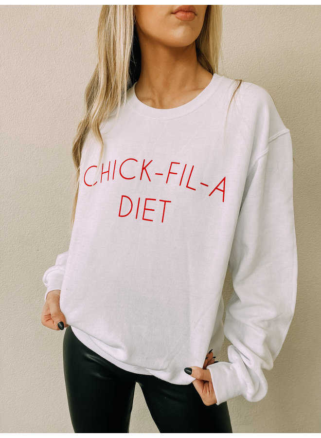 Chick Fil A Diet Crewneck