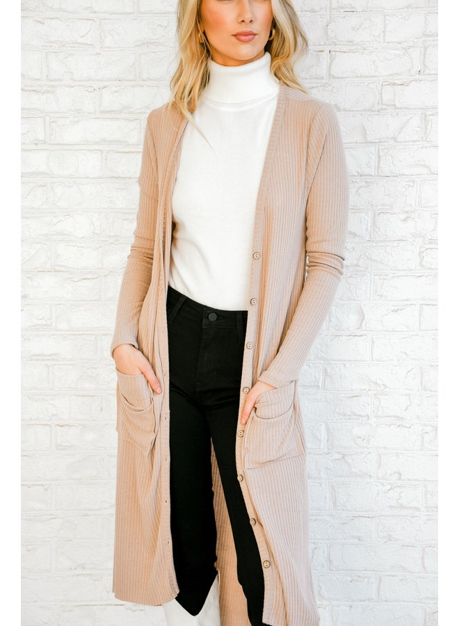 Head to Toe Buttoned Cardigan