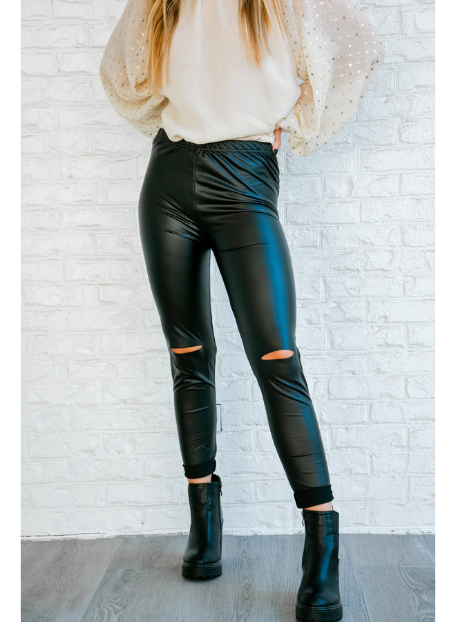 R.I.P Faux Leather Leggings
