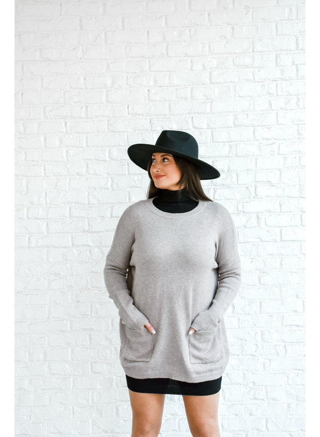 Double Pocket Sweater