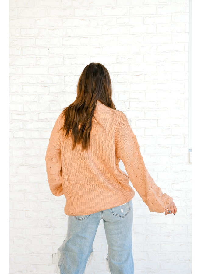 Brantley Balloon Sleeve Sweater
