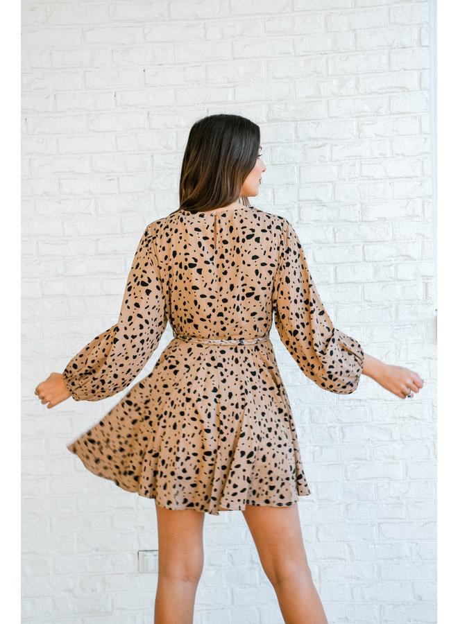 Dalmatian Spot Swing Dress