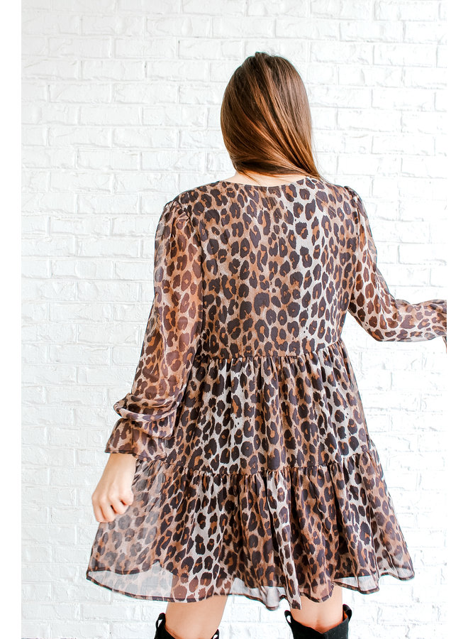 Oliver Twist Cheetah Dress