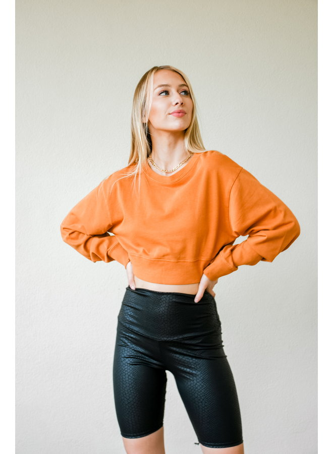 Copper Cropped Crew