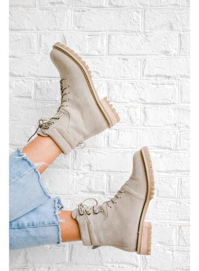 Campbell Canvas Boots