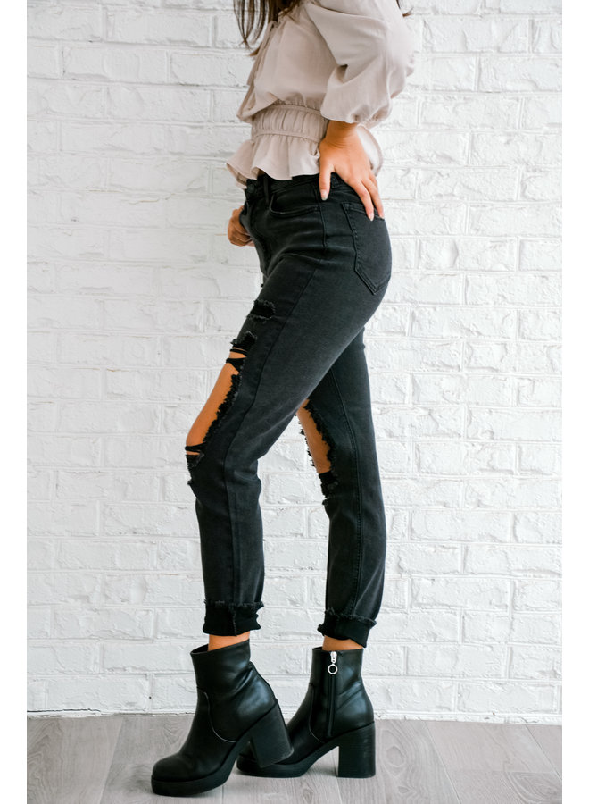 Not Your Mom's Black Jeans